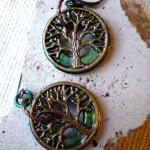 Tree of Life Earrings - Dar..