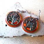 Tree Of Life Earrings: Fie..