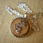 Wine Cork Necklace - Dragon